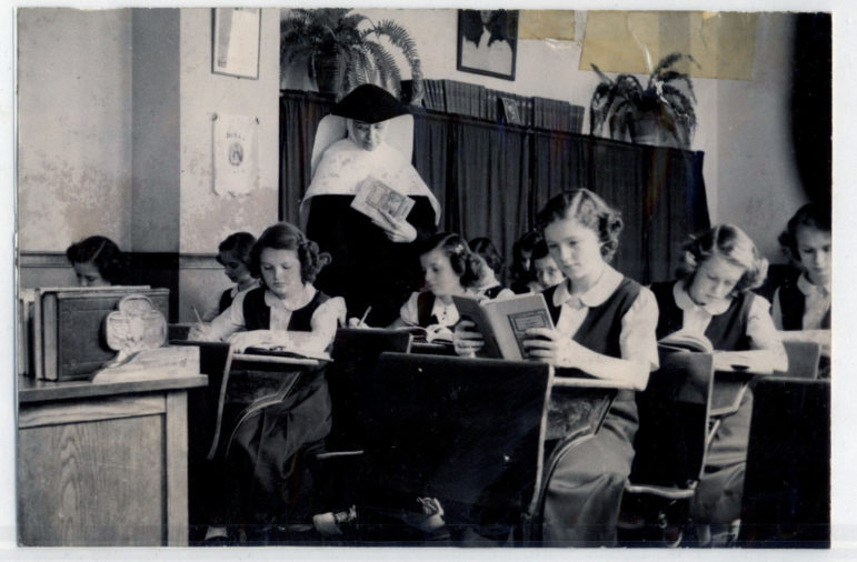 1915 st mary art and sewing class