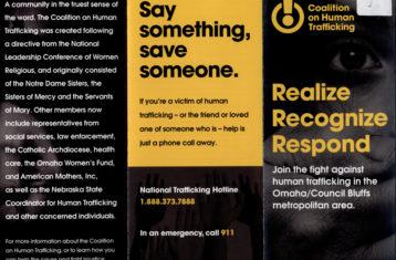 coalition on human trafficking brochure