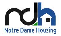 notre dame housing logo