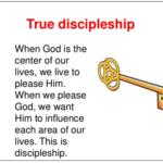 true discipleship message