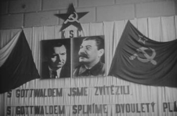 gottwald and stalin