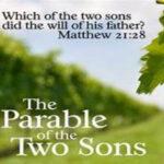 graphic featuring matthew 21:28