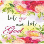 let go and let god graphic